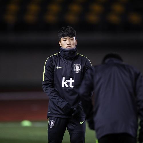 'A대표팀, U-23 대표팀과의 비공개 연습경기서 2-0 완승